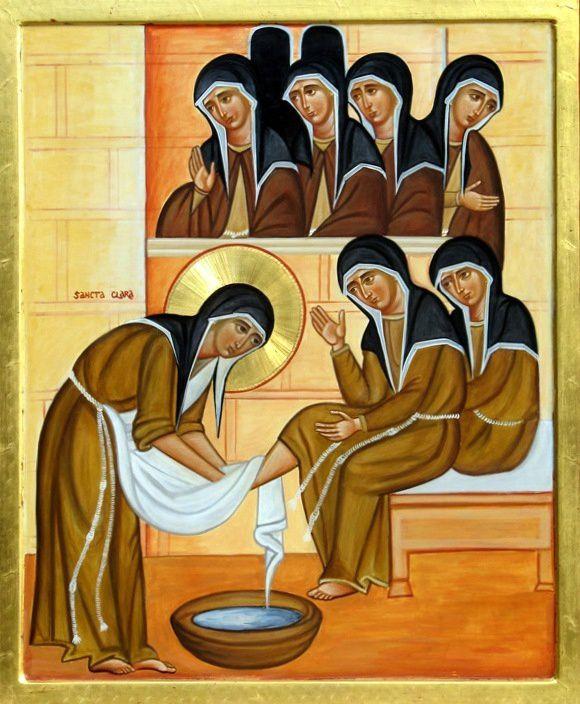 11 août, fête de Sainte Claire d'Assise (1193-1253)