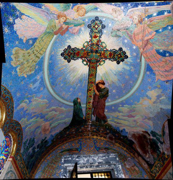 14 septembre, fête de « la Croix glorieuse ».