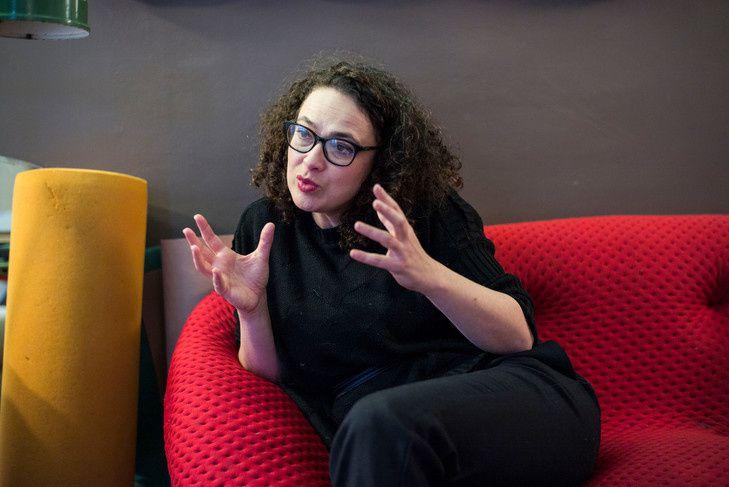 Delphine Horvilleur, rabbin. / Corentin Fohlen/ Divergence