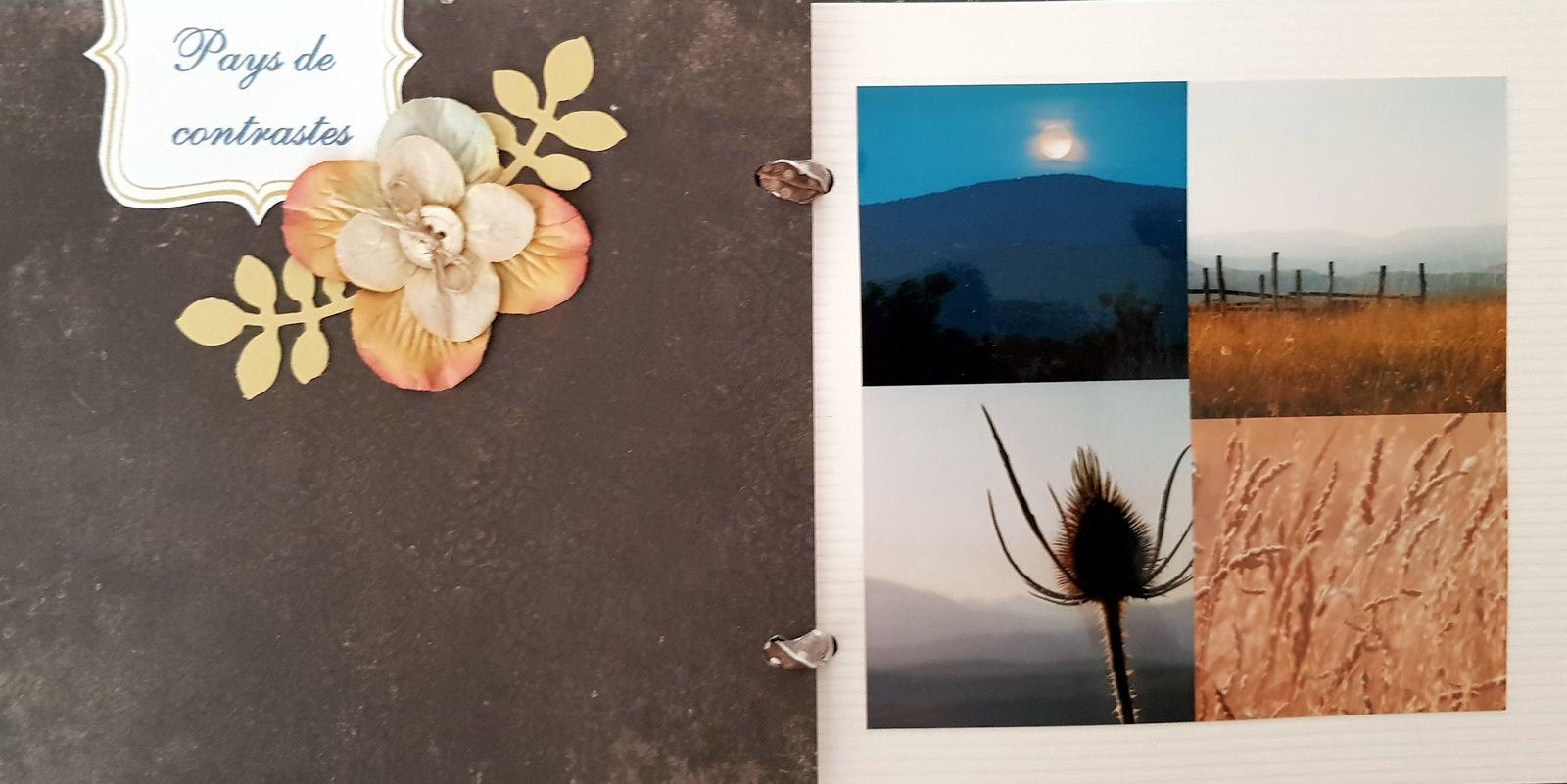 Scrapbooking de Nathalie (2009)  : l'Ardèche, mon pays, mes racines