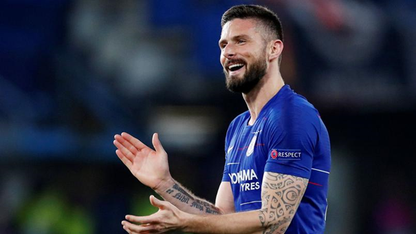 Olivier Giroud, footballeur à Chelsea est un fervent catholique. Crédits photo : DAVID KLEIN/AI / Reuters / Panoramic