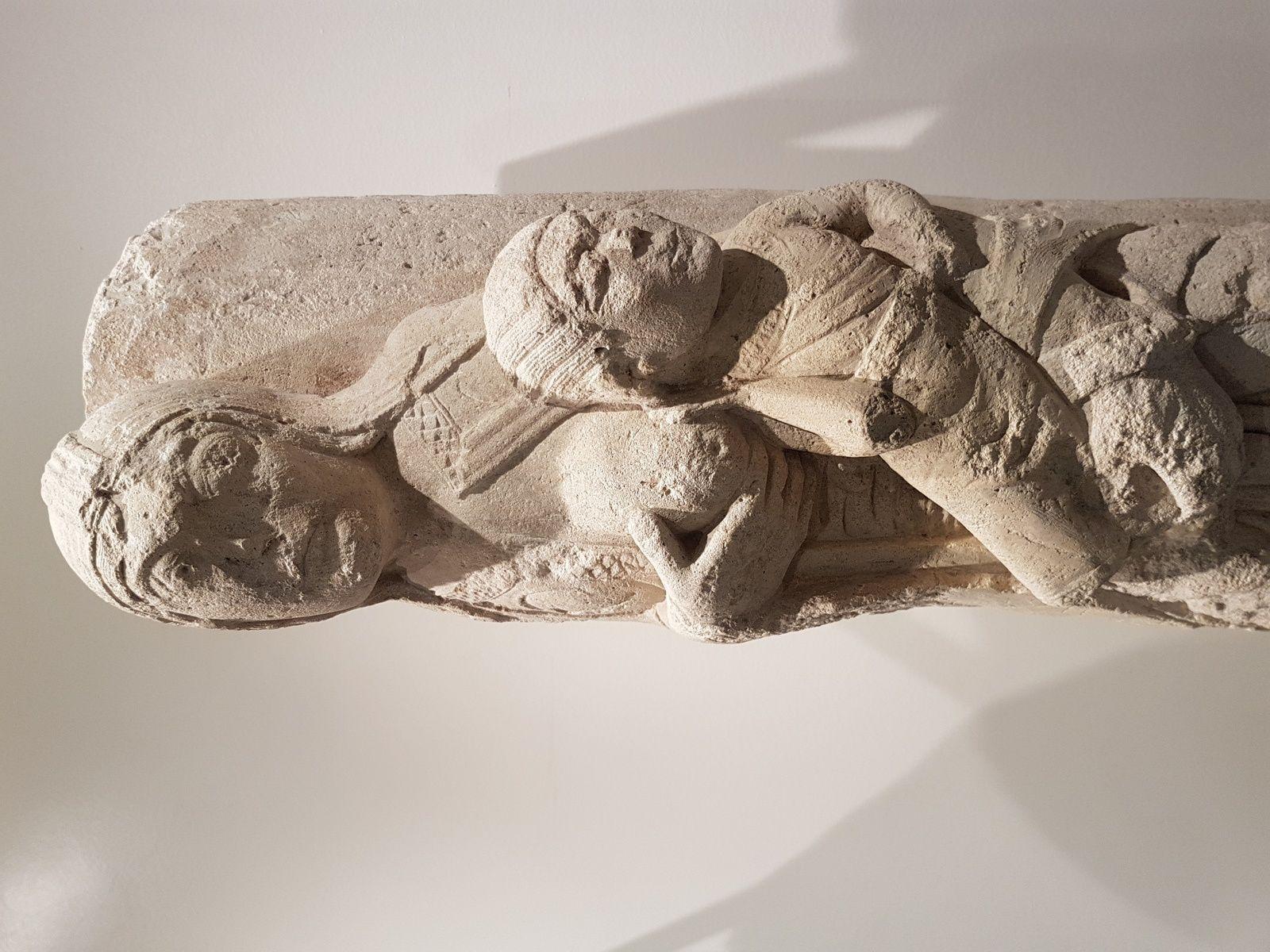 Le Jeûne de Saint-Nicolas (vers 1140-1150, musée de Saint-Maur).