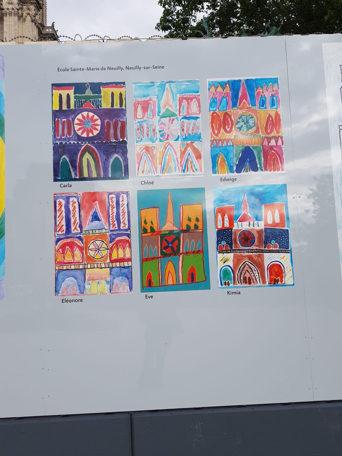 Notre-Dame : 6 000 dessins d'enfants adressés au diocèse de Paris