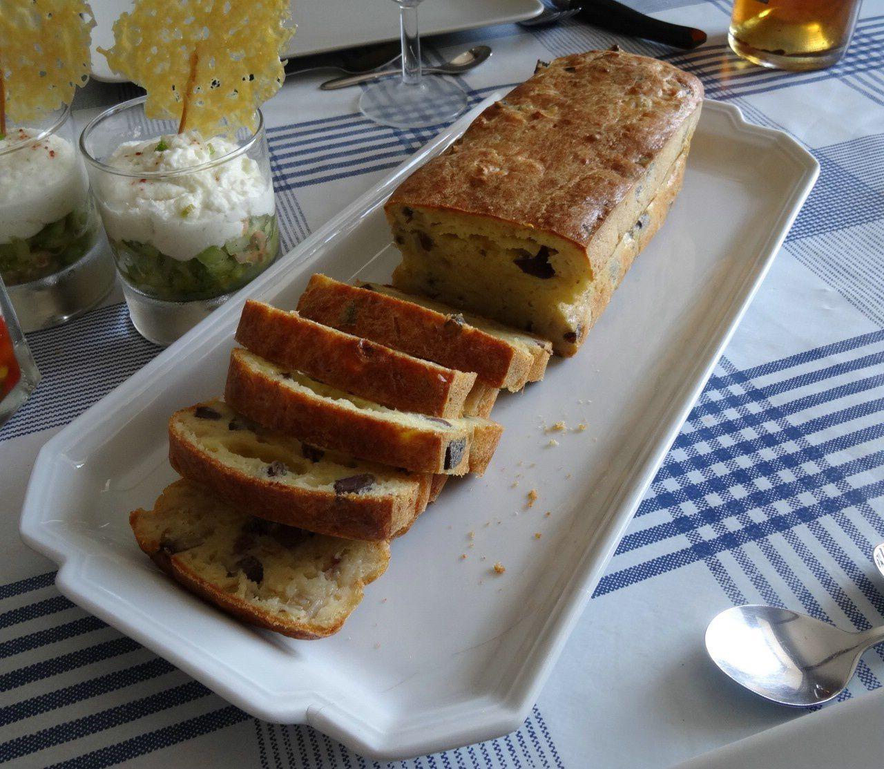 Cake oignons-gésiers de canard confit