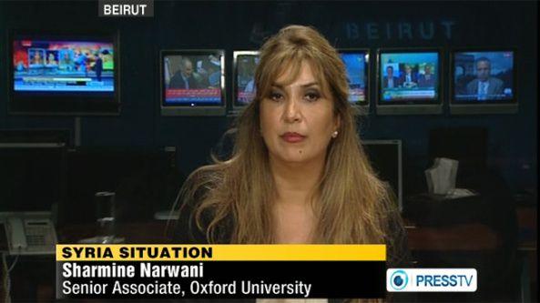 """Shamine Narwani n'est pas à proprement parler une """"amie"""" d'Israël !"""