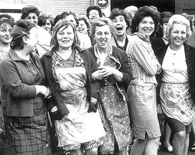 Les femmes grévistes de la FN de Herstal étaient déterminées. Elles sont devenues le symbole de la lutte des femmes.