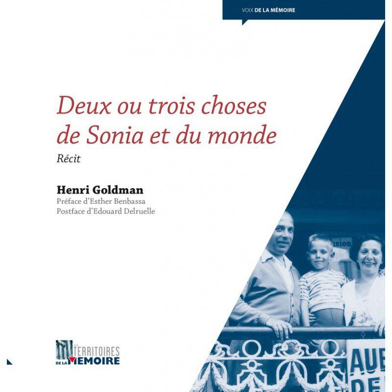Henri Goldman dans ce livre nous parle de sa mère, Sonia, rescapée des marches de la mort après Auschwitz.
