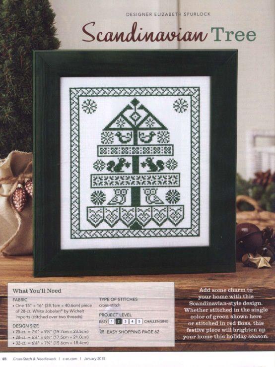 Grilles Noël point de croix