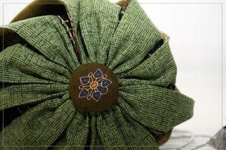 Sacs boules en patchwork japonais