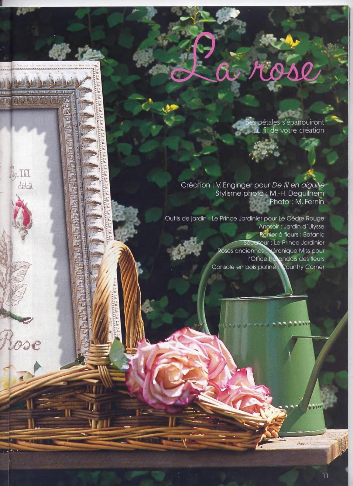 Grilles fleurs de Véronique Enginger