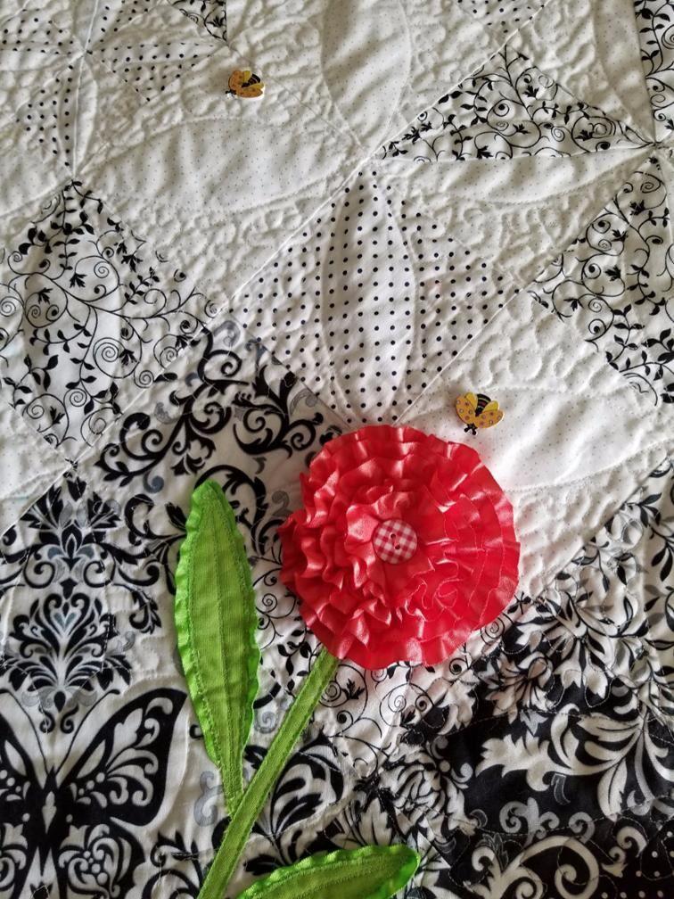 Un bouquet avec des rubans: tutoriel