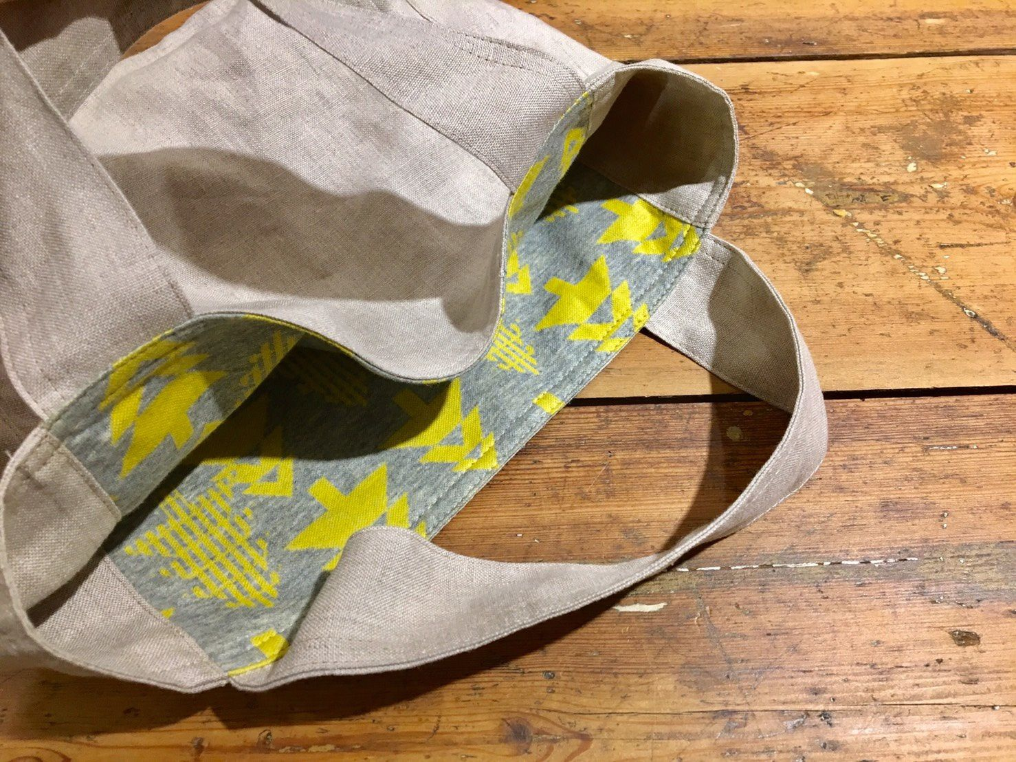 Tutoriel mini tote-bag