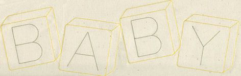 Broderies machine: ABC