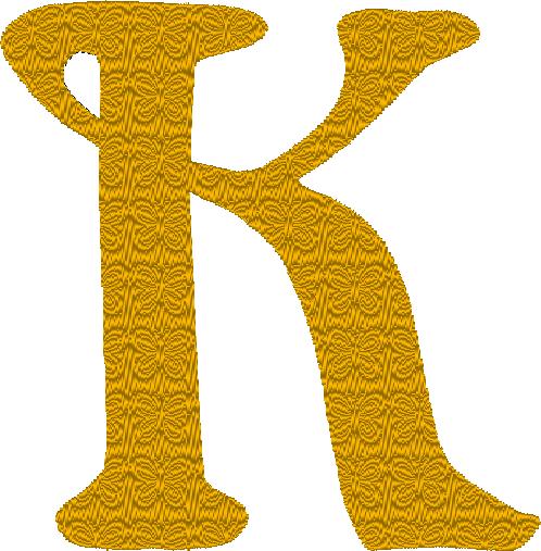 K couleur