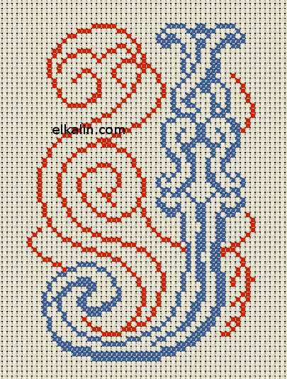Dessin FLORES MINI 7,3 cm x 3,5 cm. directions et signalisation Carreaux c/éramique peints /à la main avec technique corde s/èche ESPACE BLANC cuerda seca /Écriteaux num/éros et lettres Noms