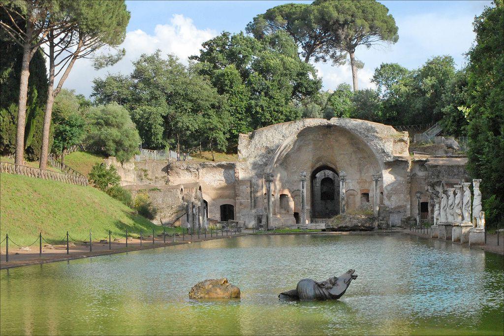 Villa d'Hadrien, Tibur (Tivoli), proche de Rome, Italie.