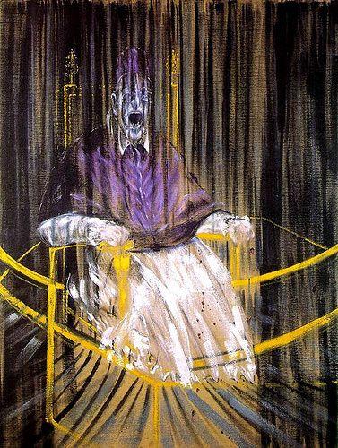 Étude d'après le portrait du pape Innocent X par Velázquez est un tableau peint par Francis Bacon en 1953. Il est conservé au Des Moines Art Center, à Des Moines. Le tableau est un travail dérivé du portrait d'Innocent X de Diego Vélasquez. Il fait partie d'une série de 45 variantes sur la peinture Diego Velásquez que Francis Bacon a exécutés tout au long des années 1950 et au début des années 1960.