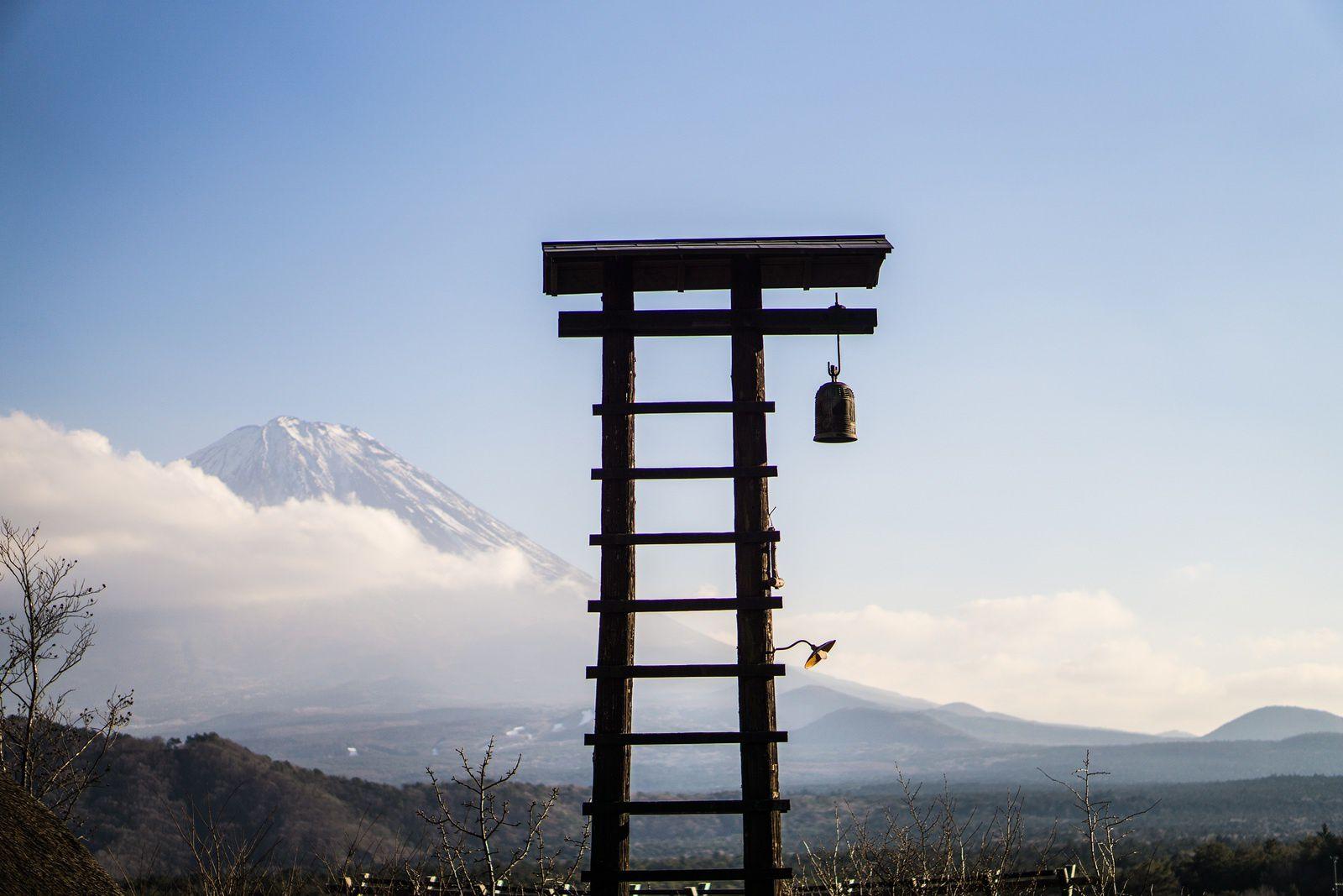 Le Mont Fuji, Japon.