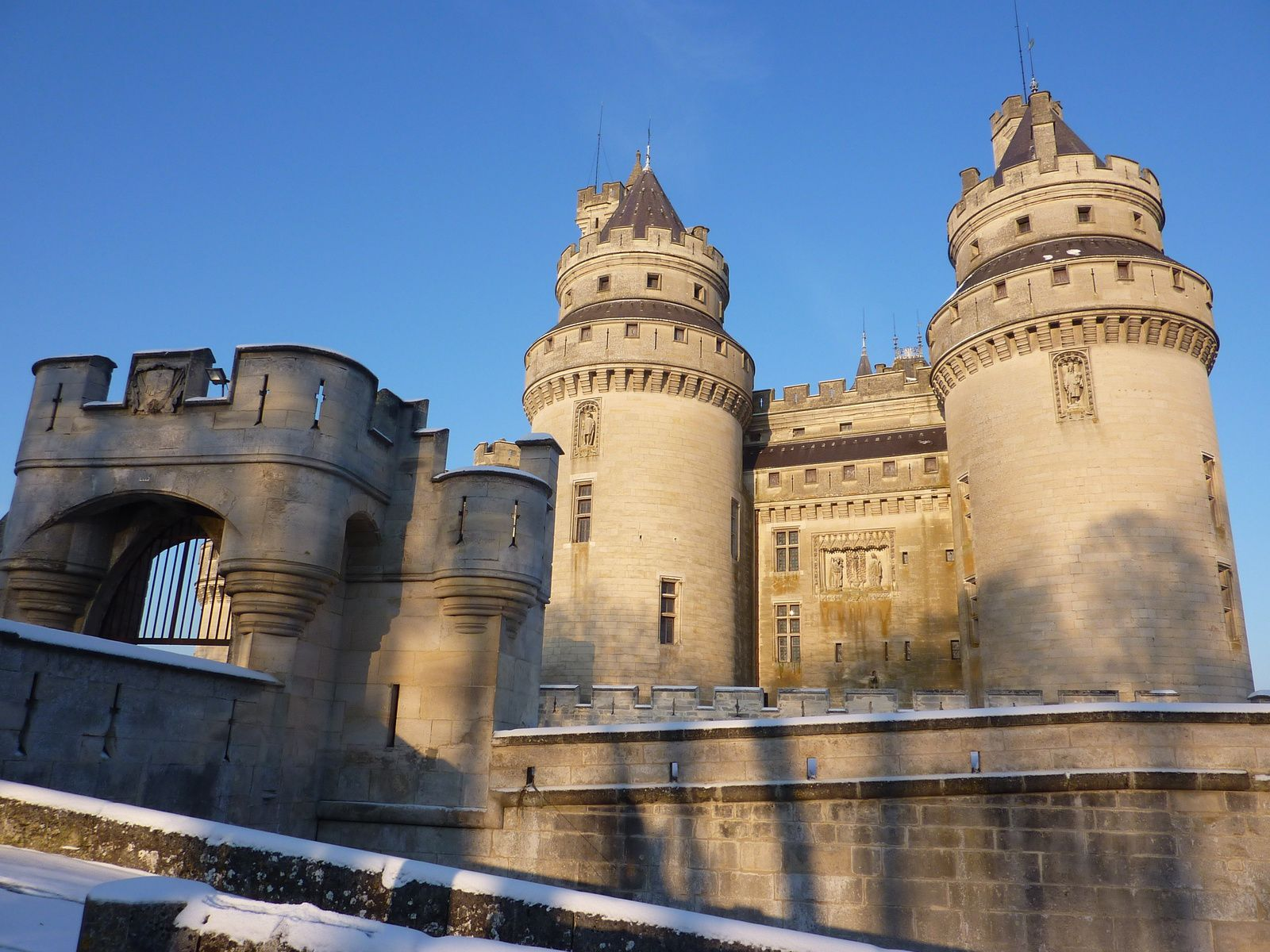 Pierrefonds, Oise, France.