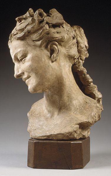 Bacchante (1872) de Jean-Baptiste Carpeaux (1827-1875), Metropolitan Museum of Art, Manhattan, New York, USA.