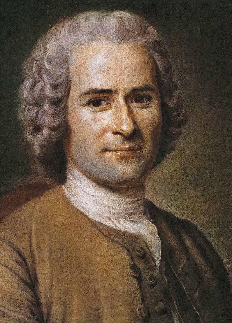 Portrait de Jean-Jacques Rousseau par Quentin de La Tour. Maurice-Quentin2 de La Tour né le 5 septembre 1704 à Saint-Quentin, où il est mort le 17 février 1788, est un portraitiste pastelliste français. Durant son enfance, au lieu d'écouter le professeur, il croquait ses camarades et couvrait ses cahiers d'esquisses. Le portrait au pastel de Voltaire, qu'il réalise en 1735, lui assure une grande renommée. À son apogée, il réalise différents portraits de Louis XV, de la famille royale et de son entourage, et devient ainsi, après Jean-Marc Nattier, un artiste en vogue. À sa maturité, La Tour est un excellent dessinateur ; surnommé « le prince des pastellistes », il acquiert une remarquable maitrise du portrait au pastel19, appliquant méthodiquement un ensemble de règles de cadrage, d'éclairage, de composition. Son succès fut incontesté, la critique unanime, à tel point qu'il sera pris d'une certaine mégalomanie et rêvera de faire du pastel la technique dominante du portrait (il cherche notamment à faire de très grands formats par collage, concentre sa clientèle sur les plus hauts personnages de l'époque, monopolise le pastel dans le cadre de l'Académie royale). Il tentera de fixer le pastel pour le rendre aussi durable que l'huile (la fixation du pastel se faisait avec des laques ou des vernis : elle porte toujours atteinte à « la fleur du pastel », sa surface mate qui accroche la lumière). Son perfectionnisme méticuleux lui vaudra d'endommager certains de ces portraits. Il se permettra des provocations répétées, comme le portrait d'un esclave noir nostalgique de son pays au milieu des plus hauts dignitaires.