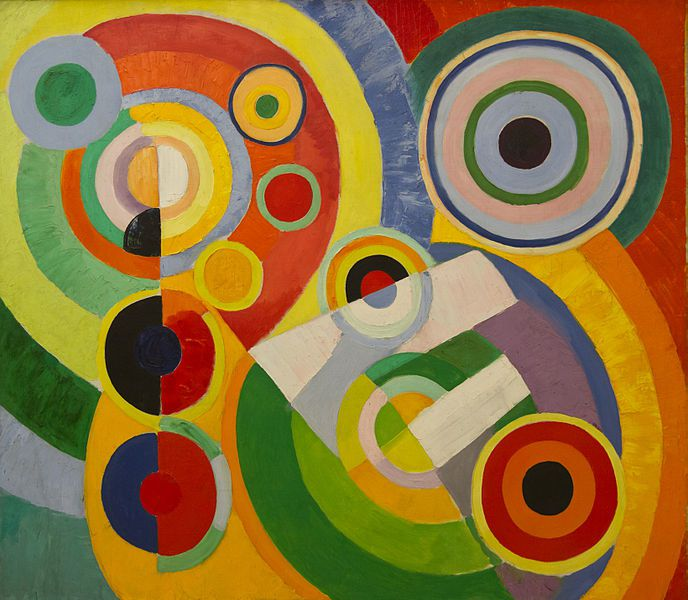 Robert Delaunay, Rythme, joie de vivre, 1930. Centre national d'art et de culture Georges Pompidou, Paris, France.