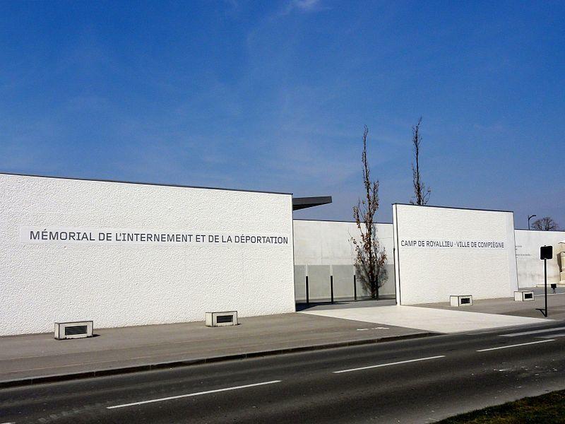 Mémorial de l'Internement et de la Déportation de Royallieu, Compiègne, France. Jorge Semprun a été interné dans ce camp avant d'être déporté à Buchenwald.