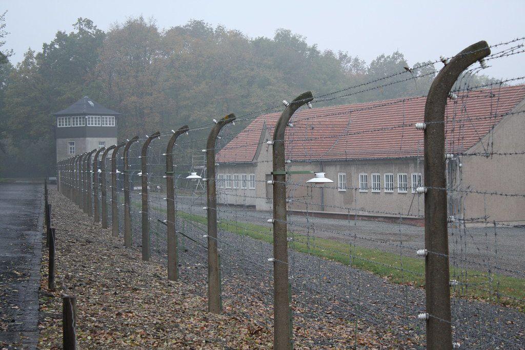 Ancien camp de concentration de Buchenwald, près de Weimar, en Allemagne.