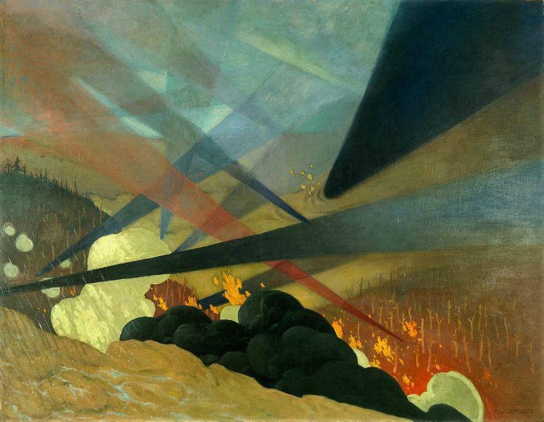 Félix Vallotton, Verdun, 1917, Musée de l'Armée, Paris, France.