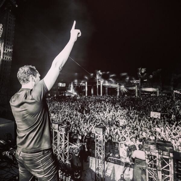 Tiësto photos: UME - South Padre Island, TX 13 march 2014