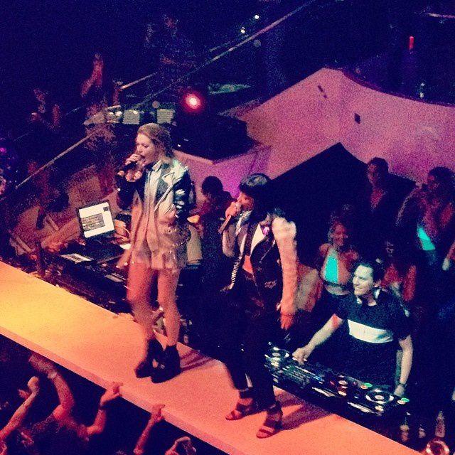 Tiësto & Icona Pop photos: Liv Miami Beach, FL 27 march 2014