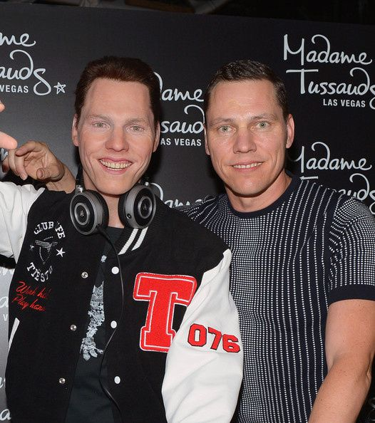 Tiesto Celebrates Las Vegas Debut Of His Madame Tussauds Wax Figure At Hakkasan