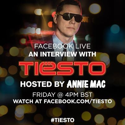 Tiësto, listen interview Q&A on Facebook and preview 5 tracks