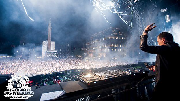 Tiësto photos: BBC Radio 1′s Big Weekend Festival - Glasgow, UK 23 may 2014 | free concert