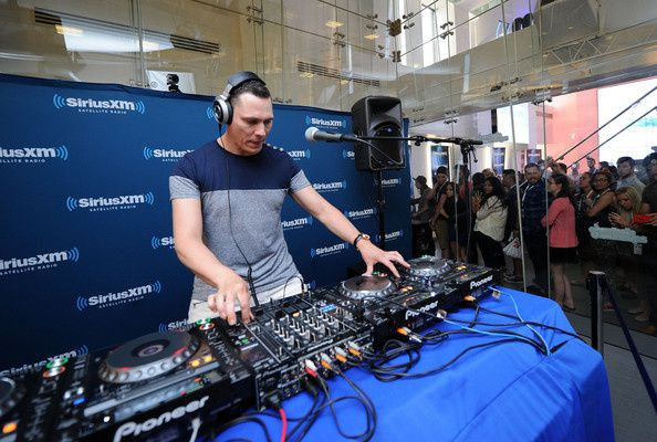Tiesto photos: Performs On SiriusXM's 'Electric Aquarium' June 16, 2014 - New York City.
