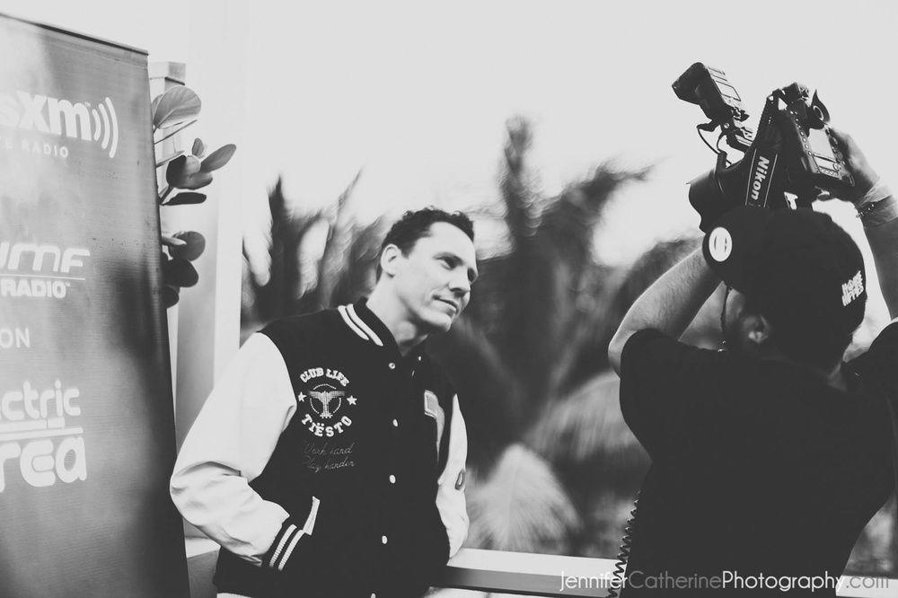 Tiësto Live at SiriusXM Studio (New York City) 16 june 2014