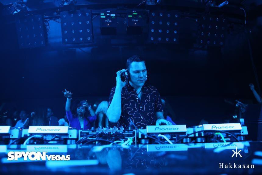 Tiësto photos: Hakkasan - Las Vegas, NV 10 july 2014