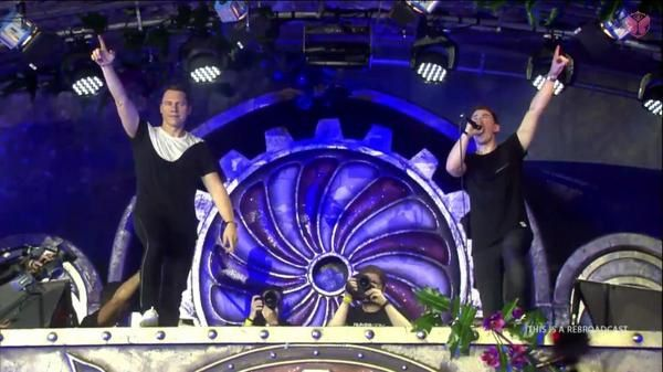 Tiësto & Hardwell photos: Tomorrowland - Boom, Belgium 19 & 26 july 2014