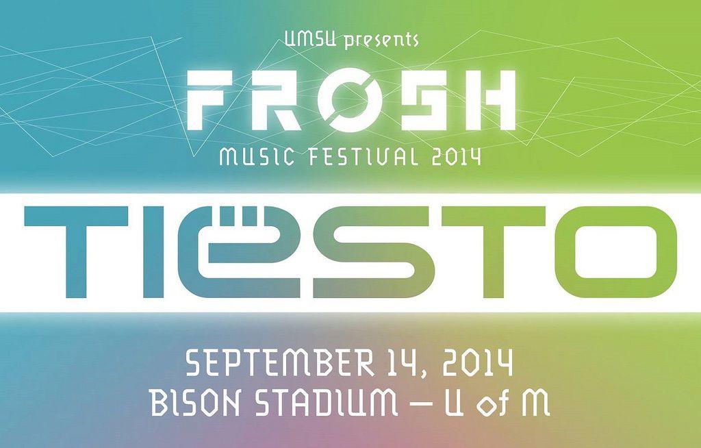 Tiësto photos: Frosh Music Festival - Winnipeg, Canada 14 september 2014