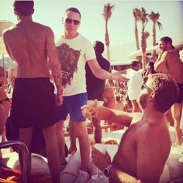 Tiësto photos: Nikki Beach - Marbella, Spain 27 july 2014