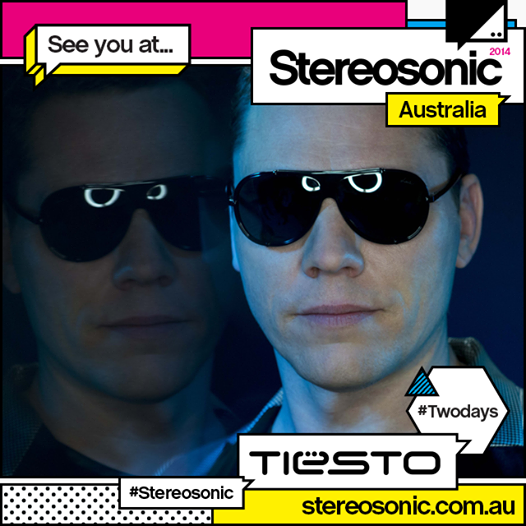 Tiësto photos: Stereosonic - Sydney, Australia 30 november 2014