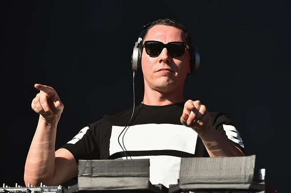Tiësto photos: Global Citizen Festival, New York, NY 27 september 2014