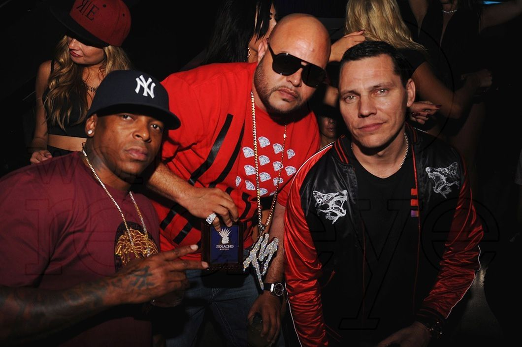 Photos Tiësto at Liv, Miami for birthday of Norris Cole's - october 13, 2014