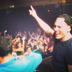 Tiësto photos: guest surprise at Webster Hall with MOTI - november 08, 2014