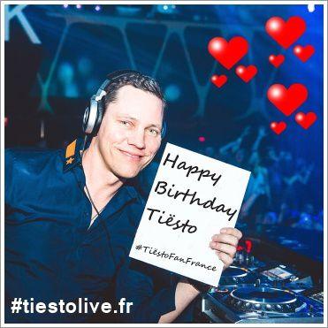 Happy Birthday Tiësto #TiëstoHappyBirthday #tiestolive