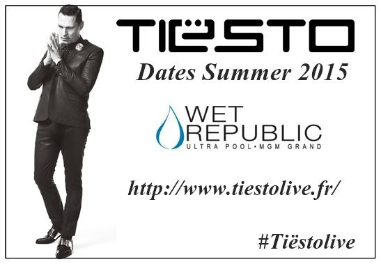 Tiësto photos | Wet Republic | Las Vegas, NV - May 17, 2015