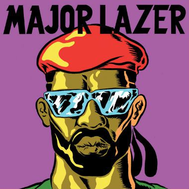 Tiësto in a cartoon series with Major Lazer