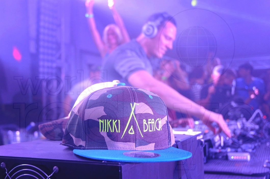 Tiësto photos at Nikki Beach Miami -  march 25, 2015