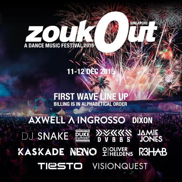 Tiësto photos | ZoukOut festival | Sentosa, Singapore - december 11, 2015
