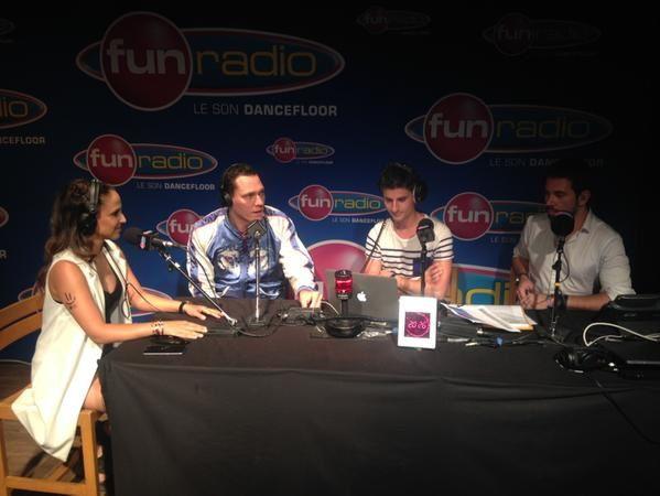 Interview vidéo de Tiësto pour Fun radio lors de l'ElectroBeach 2015